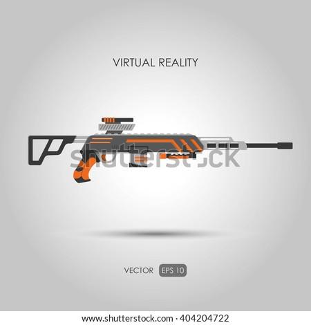 sniper rifle gun for virtual