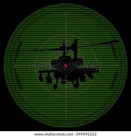 sniper scope crosshair aiming