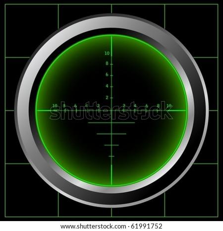 Sniper sight (vector)