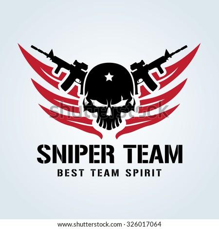 sniper team  games logo