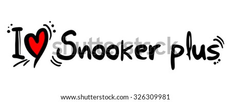 snooker plus love