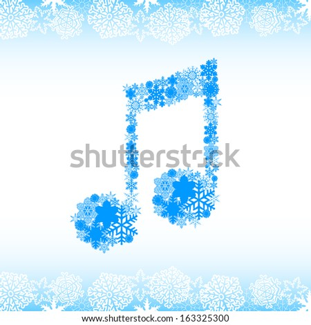 snow alphabet letters and