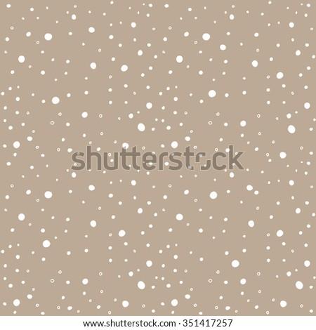 snow kraft paper seamless