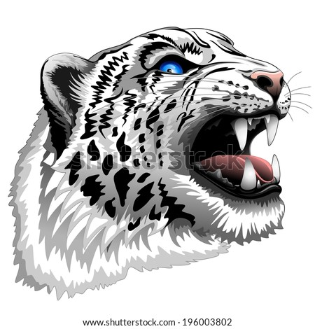 snow leopard roar