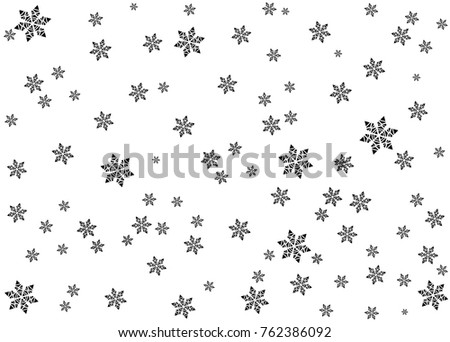 snow winter vector background
