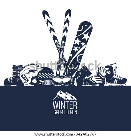 snowboard equipment kit clothes