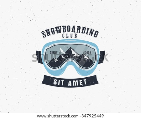 snowboarding goggles extreme