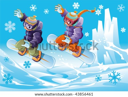 quotes about snowboarding. snowboarder girl cartoon