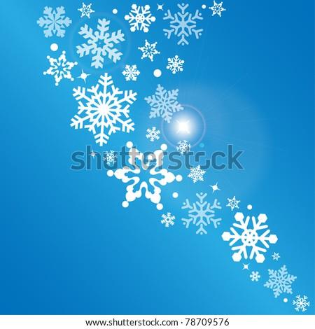 snowflake   abstract vector