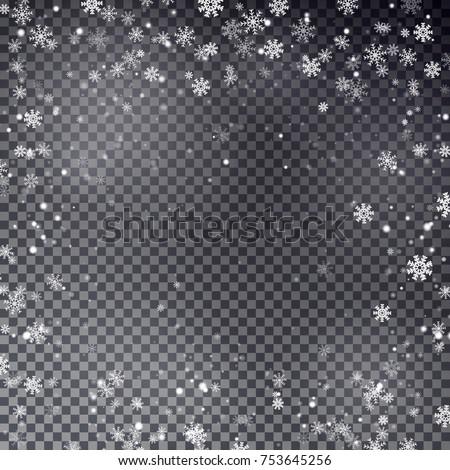 snowflake border vector....