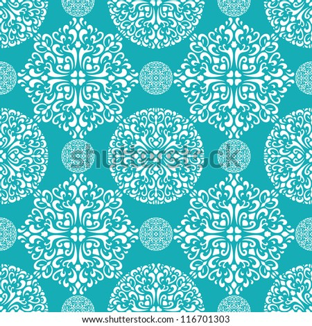 snowflake christmas seamless winter abstract background textile pattern