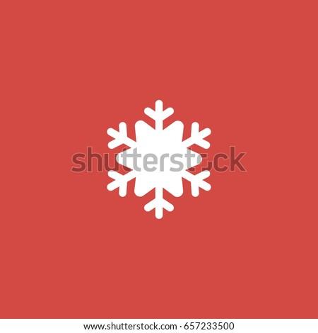 snowflake icon sign design