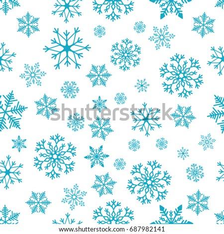 snowflake simple seamless