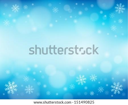 snowflake theme background 1