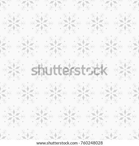 snowflake vector seamless