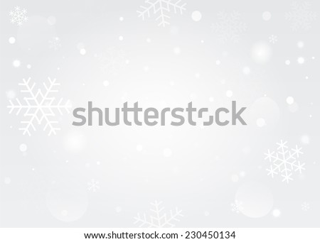 snowflakes bokeh background
