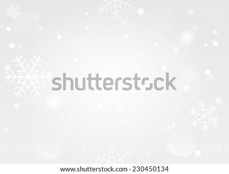 snowflakes bokeh background