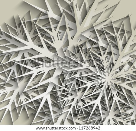 Snowflakes Christmas Design