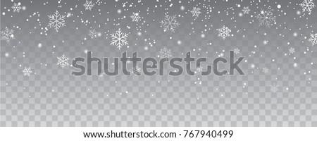snowflakes falling christmas