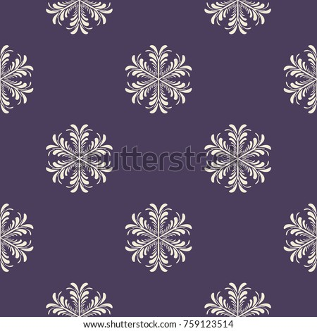 Snowflakes pattern. Endless simple illustration, image. Creative, luxury colorful style. Print card, cloth, wrapping, wrap, wrapper, web, cover, gift, invitation, xmas, Merry Christmas