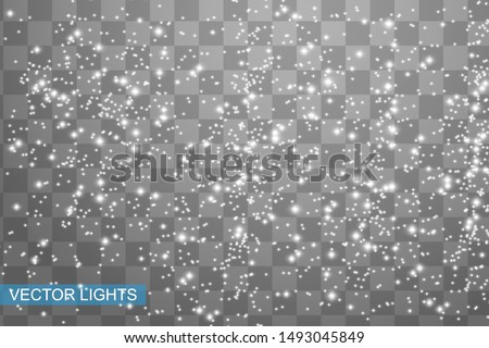 Snowflakes, snow background. Christmas snow for the new year.