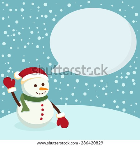 Snowman blue notes christmas greeting card notes with snowman in snowman blue notes christmas greeting card notes with snowman in blue winter background m4hsunfo