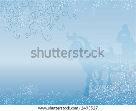 snowy background winterland