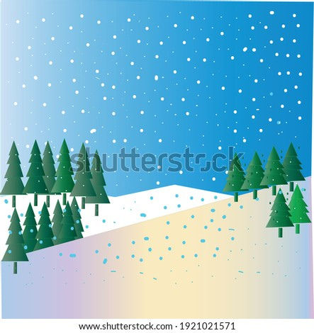 snowy mountains  beautiful