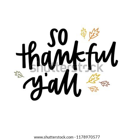 So thankful y'all