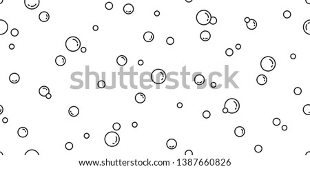 soap bubble seamless pattern vector soda pop water bath duck rubber cartoon illustration shower repeat wallpaper tile background scarf isolated
