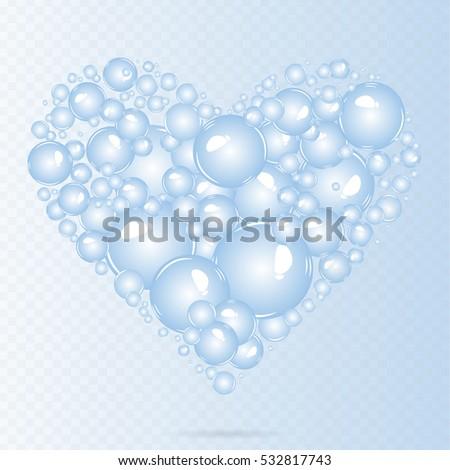 soap bubbles background air