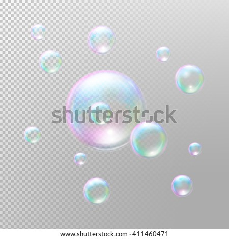 soap bubbles realistic soap