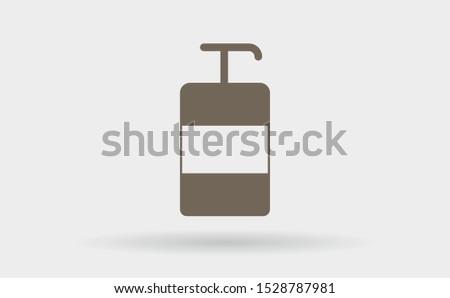 soap icon vector . Lorem Ipsum Illustration design