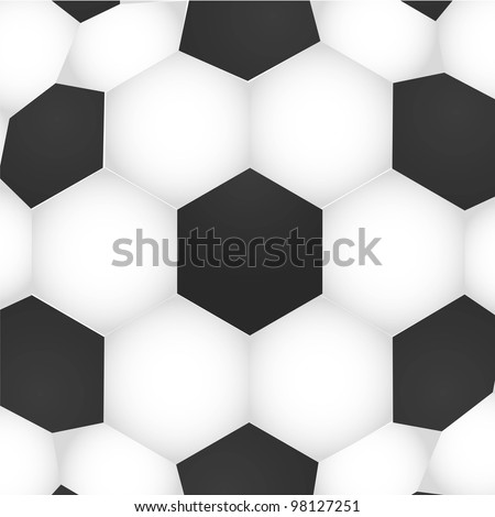 soccer background texture, ball pattern, vector illustration