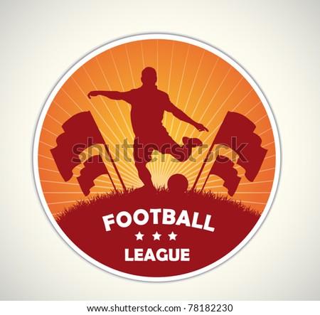 soccer badge and emblem