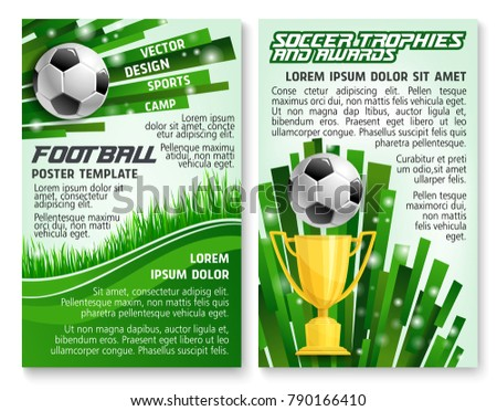 football sports championship game flyer template - Download Free ...