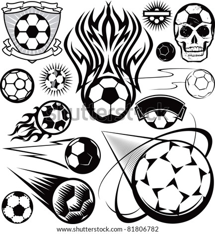 soccer ball collection