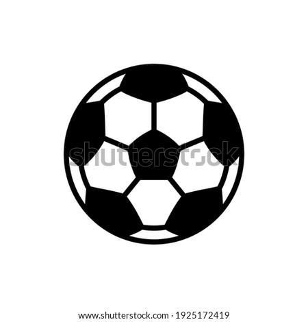 soccer ball icon design vector