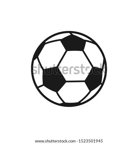 soccer ball icon vector symbol