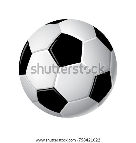 soccer ball   modern vector