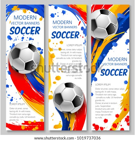 Soccer Tournament Game Poster Flyer Design Download Free Vector
