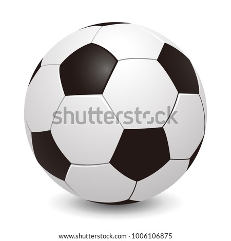 soccer ball   stock vector