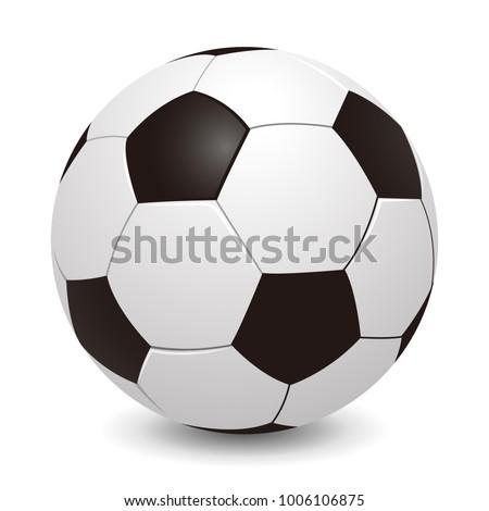 soccer ball   stock vector