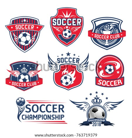 soccer club badges or football