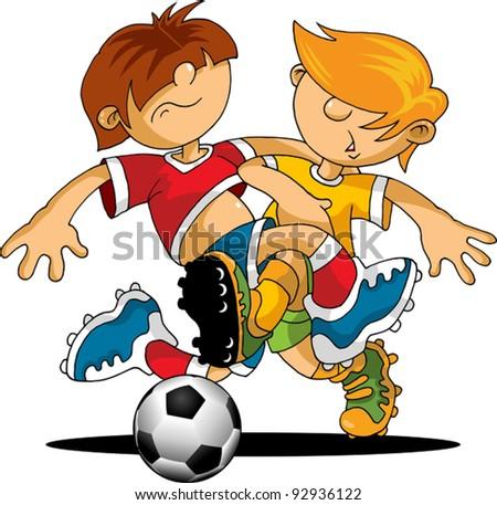 soccer design element; white background (vector-illustration);