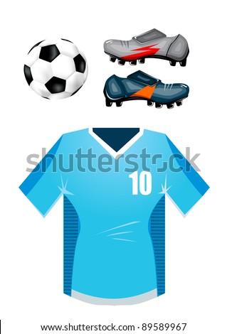 Soccer equipment set