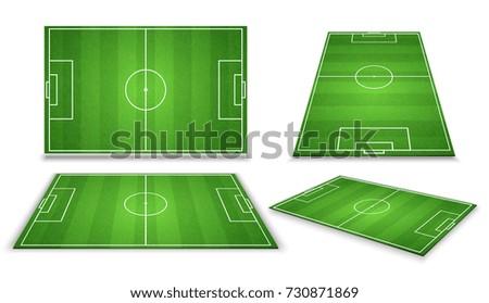 soccer  european football field