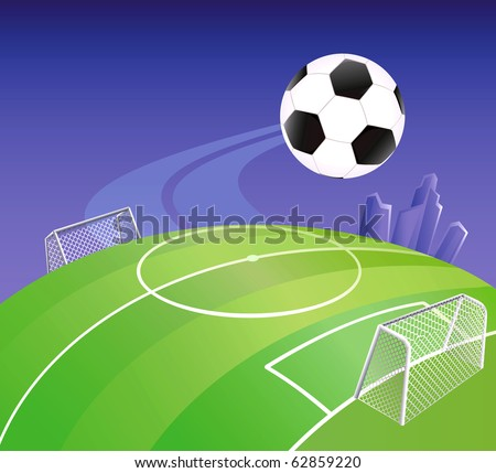 How To Draw Football Goal