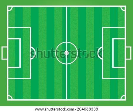 soccer field vector eps10