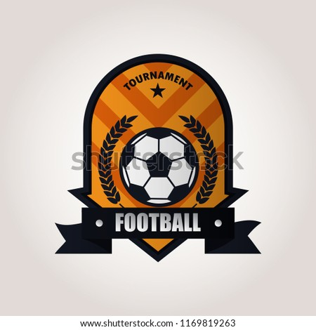 royalty free soccer club emblem college league logo 294382529